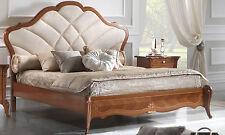 Doppel Bett 180 cm Giulietta Furnier Nussbaum italienische klassische Stilmoebel