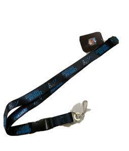 Carolina Panthers Lanyard Keychain Black
