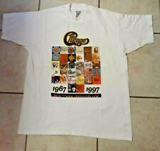Vintage CHICAGO 1997 CONCERT TOUR T-SHIRT, SIZE L