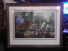 Large Lloyd Garrison Framed Limited Edition Print Signed, Matted & Numbered