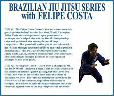 Brazilian Jiu-Jitsu Training (2) Dvd Set bjj grappling passing the guard mma ufc