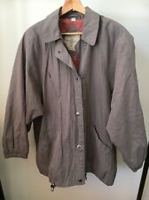 The Aquabury Mac Taupe Size 12 Lined Lightweight Jacket <T11701