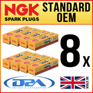 8x NGK BPR7ES 2023 Standard Spark Plugs *Wholesale Price SALE*
