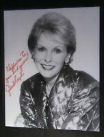 Vintage Janet Leigh Autograph Signed 8x10 Photo Photograph. LIFETIME COA.