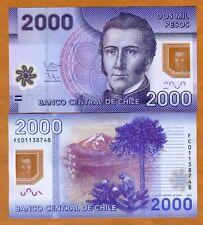 Chile, 2000 (2,000) Pesos, 2013 (2016), POLYMER, P-162-New, UNC