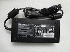 Genuine OEM 19V 9.5A F Toshiba 180W Qosmio X70 PA5084E-1AC3 PA3546E-1AC3 Charger