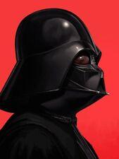 Star Wars Darth Vader Portrait Mondo Art Print Mike Mitchell Anakin Skywalker