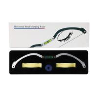 Eyebrow Mapping Bow Ruler Built-in Spirit Level Microblading SPMU