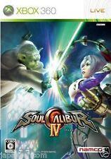 Used Xbox 360 Soul Calibur IV MICROSOFT JAPAN JP JAPANESE JAPONAIS IMPORT