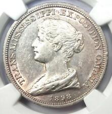 1898 Trans Mississippi Expo Medal HK-281 SC$ So-Called Dollar - NGC AU55