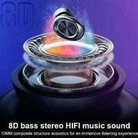 Bluetooth 5,0 Headset TWS Drahtlose Kopfhörer Mini Stereo IPX6 Ohrhörer P7W2