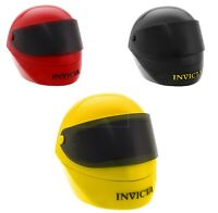 Invicta Helmet Watch Box 1 Slot Case Yellow, Black And Red