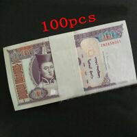 Mongolia Banknote Bundle. 100X 100 Tugrik. Uncirculated.