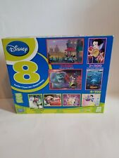 Disney 8 Pack Puzzles 150, 300, 500 pieces Snow White Cars Mickey Monsters Inc.