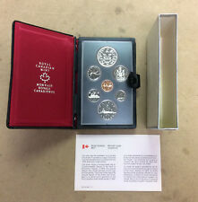 1978 Royal Canadian Mint Double Dollar Proof Like Coin Set Complete With Box