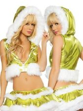 Sexy Women's Miss Mrs Santa Christmas Bikini Fancy Dress Costume Outfit