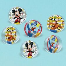 Mickey Mouse And The Roadster Racers Party Bounce Balls 6 Pieces