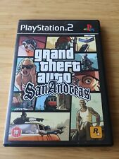 Grand Theft Auto: San Andreas (Sony PlayStation 2 PS2) Complete with manual