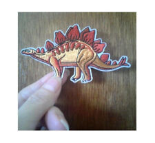 Dinosaur - Stegosaurus - Prehistoric - Science - Iron On Patch - A