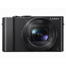 NEW BOXED PANASONIC LUMIX DMC-LX10 / LX15 DIGITAL CAMERA / BLACK / PAL