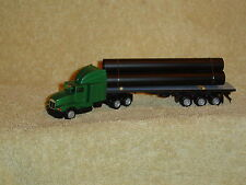 KENWORTH T-600 AERO WITH 40'FLATBED TRAILER & PIPE LOADBY PROMOTEX