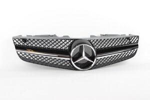 Genuine Front Center Central Grille Mercedes SL-Class R230 Facelift 2009 - 2012