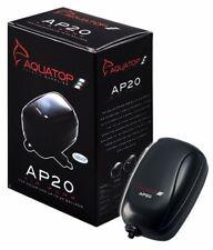 AQUATOP AP20 AQUARIUM AIR PUMP - FOR UP TO 20 GALLON AQUARIUMS