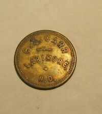 Merchant Good for 25c Trade Token C.E. Carr Larimore North Dakota 1930's