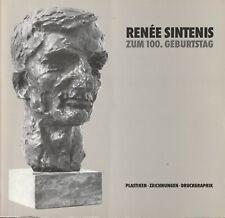 Sachbuch Kunst: Renee Sintenis, s/w Fotos