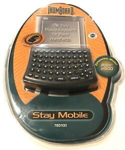 Seiko Instruments Inc Thumboard For Palm M500 Mobile Keyboard TB5100 New Sealed