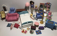 Fisher Price Loving Family Dollhouse Furniture Doll Room Accessories Pieces Lot