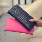 Women Lady Leather Clutch Wallet Long Card Holder Phone Case Purse Handbag HOT