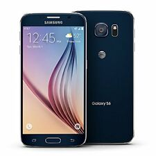 *New* Samsung Galaxy S6 SM-G920A 32GB Black G920A AT&T Global Unlocked