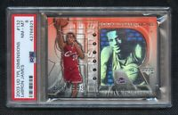 2003 Upper Deck LeBron James Rookie 609/999 PSA 8 TPL Dimensions