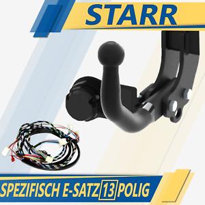 Anhängerkupplung starr+ES 13p spez für SsangYong Rodius 2 II 2WD / 4WD ab 13