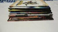 Marvel Large Lot of Wolverine graphic novels for sale