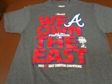 Majestic Atlanta Braves 2013 NL east division champions T Shirt  Medium   G4
