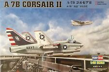 Hobby Boss LTV A-7B Corsair II Carrier Based Aircraft Vietnam 1/48 Scale