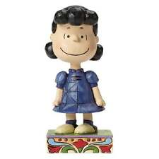 Jim Shore Peanuts Little Miss Fussbudget Lucy Figurine New Boxed 4044680