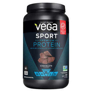Vega Sport Premium Plant-Based 30g Protein, 2.03 lbs, Chocolate Flavor