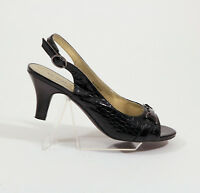 East 5th Faux Snakeskin slingback shoes US 9M