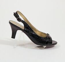 7437af5fccd East 5th Faux Snakeskin slingback shoes US 9M