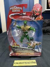Power Rangers Super Megaforce - Mighty Morphin Green Ranger Legacy 5? 38212 MINT