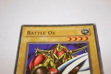 Battle Ox SDK-002 Yu-Gi-Oh! Card Light Play