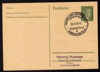 █ Ganzsache FREIWALDAU Cachet Spécial 02/04/43 WW2 █