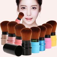 Retractable Kabuki Makeup Brush Professional Cosmetic Tool Powder Blush Brushes