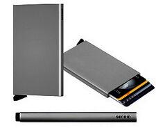 Tarjetero billetero Secrid Cardprotector Titanium (gris Metalizado)