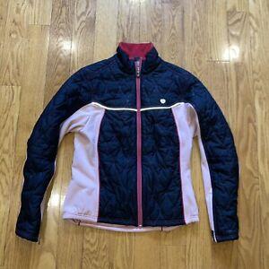 Pearl Izumi Womens Thermal Soft Shell Cycling Jacket Warm Pink Size Medium