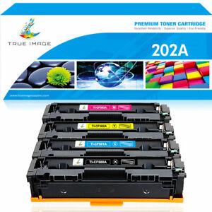 4PK Toner Compatible for HP 202A CF500A Color LaserJet Pro MFP M281fdw M254dw
