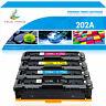 4PK Toner Fits for HP CF500A 202A Color LaserJet Pro MFP M281fdw M281cwd M254dw
